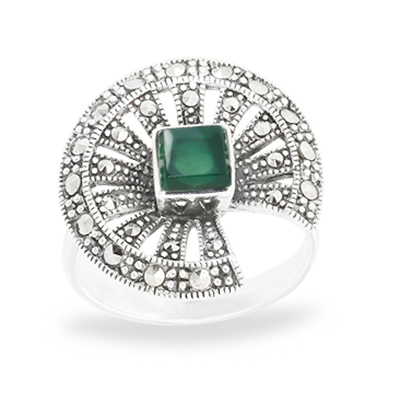 https://www.hongfactory.com/collection/wholesale-marcasite-ring/marcasite-with-stone/lotus-leaf-marcasite-ring-with-square-agate/