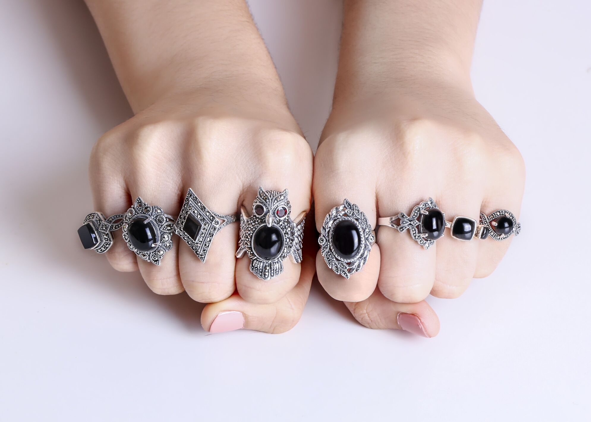 3 Sterling Silver Marcasite Rings to Buy as a Wedding Gift
